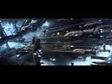 Epic Space Battles with Epic Music 2 ( Mass Effect 3 and EVEonline Montage /Protectors of the Earth)