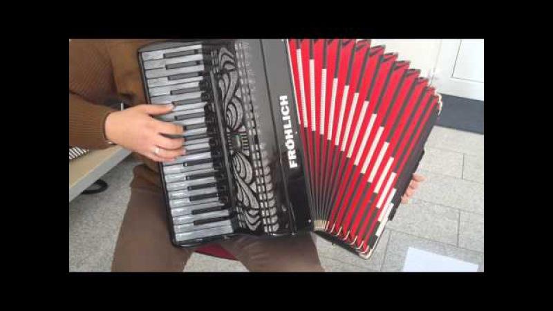Akkordeon Klangprobe Fröhlich Schumann Cassotto