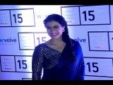 Kajol stunning beautiful in saree at Lakme Fashion Week 2015.