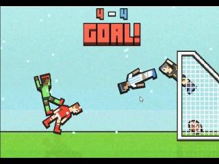 Игра про футбол #3 - Пьяные футболисты