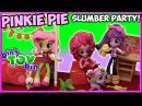 Pinkie Pie Slumber Party Bedroom Set Review! My Little Pony Equestria Girls Minis | Bin's Toy Bin