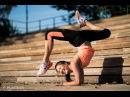 Тренировка на гибкость спины поперечный шпагат