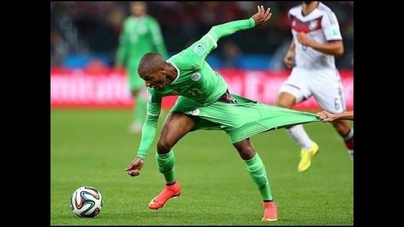 Смешные моменты в футболе 2015 - Лучшая подборка 2015