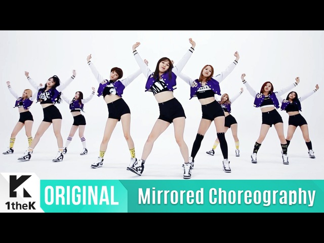 Mirrored TWICE CHEER UP Choreography 1theK Dance Cover Contest