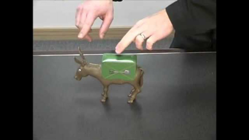 Dramatic Donkey Cigarette Dispenser - Archie McPhee