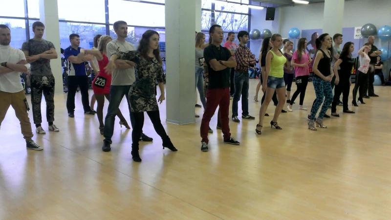 BachataBoom в Alex Fitness г Ставрополь Dance Boot Camp 24 10 2015
