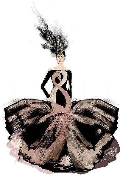 Дизайнеры прикинули, каким будет свадебное платье Леди Гаги: