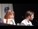 Spartacus Part 3 with Lucy Lawless, Liam Mcintyre, and Manu Bennett DragonCon 2013 Atlanta, GA