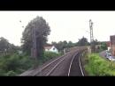 Fuhrerstandsmitfahrt KBS 650 12 Heidelberg Hbf - Weinheim Bergstr