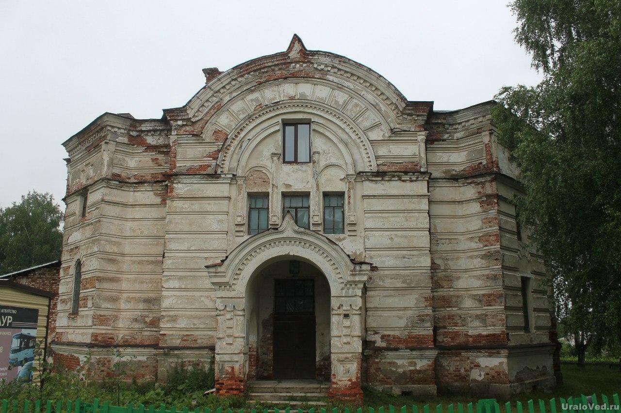 Церковь в селе Висим