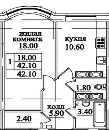 """Продается 1ккв в ЖК """"Северная долина"""", рядом с метро """"Парнас""""! UwgH17p4NUU"""