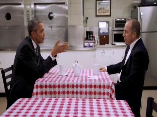 Comedians in Cars Getting Coffee /Сайнфелд с друзьями в поисках кофе S07E01 Сезон 7 Эпизод 1 President Obama / Барак Обама (ENG)