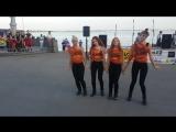Алина и Студия 64 выступают на набережной в день молодёжи