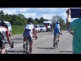 Финиш  девушки групповая гонка -спартакиада. 29.05.2015