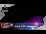 Безопасный фейерверк Новогодняя серия размер XXL - 150 залпов