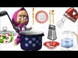 Первые слова для малыша в картинках. Учим слова для детей 1-3 года. Обучающее видео. Посуда