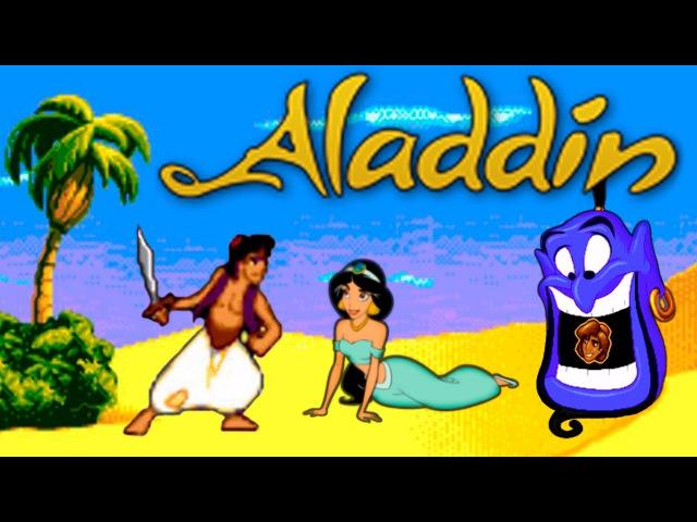 Disneys Aladdin (Аладдин) прохождение (Sega Mega Drive, Genesis)