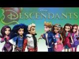 Disney Descendants Mal,Evie,Carlos,Ben,Lonnie,Jane,Audrey Doll VS Actor Review & Doll Comparisons