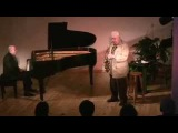 Lee Konitz and Martial Solal at the Atelier de la Main d'Or, first concert