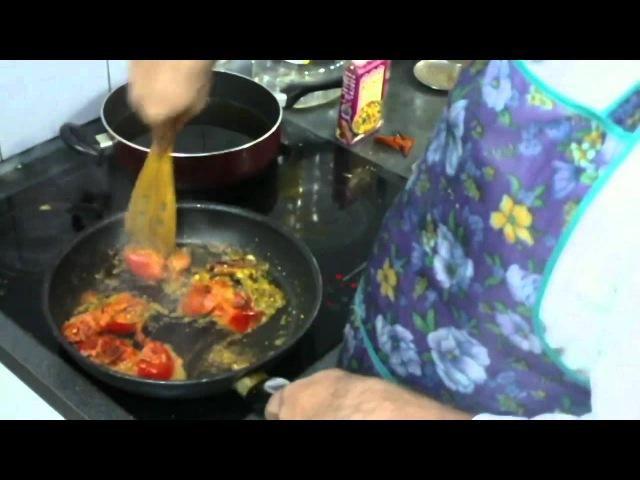 Уроки ведической кулинарии ч. 11 - Дока