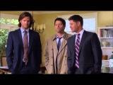 Сверхъестественное  Приколы со съемок 8 сезона Сверхъестественное   Supernatural 2013)