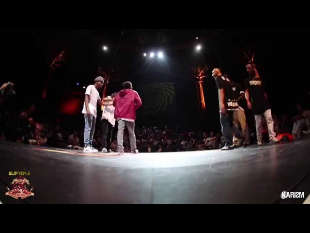 Supreme Cercle Underground S2 - Hiphop 1/2 Final - Dirthay Dutch Vs Triple Threat - Karism
