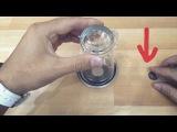 Секрет фокуса Монетка сквозь стакан ! - товар с aliexpress за 1$ - посылка из Китая