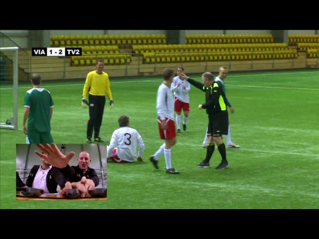 Golden Goal - Elektrosjokkfotball (Electroshock football/soccer with English subs!)