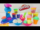 Play Doh Double Treat Ice Cream Dessert Sweet Shoppe Playset Toy Unboxing & Review!