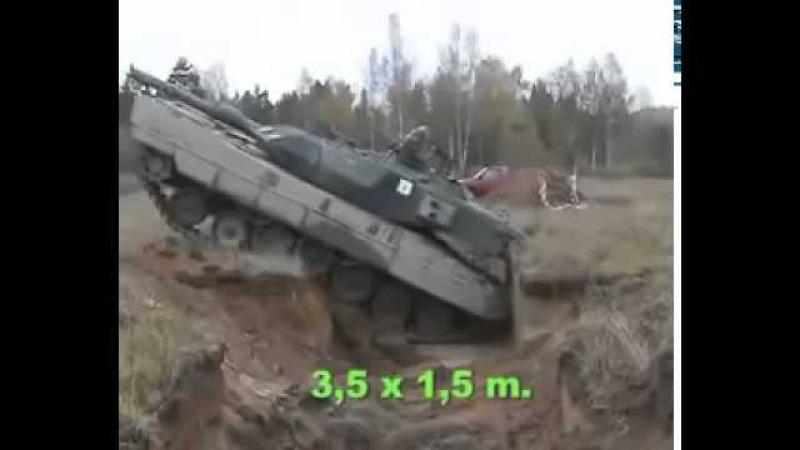 Хунтовские окопы против Русских танков