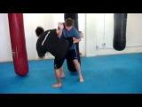 Donnie B. - Muay Thai Round Kick Defense Techniques