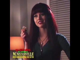 "R.L Stine's Monsterville on Instagram: ""Lilith (@KitKatsMeow) has lots of tricks up her sleeve. #Monsterville # #RLStine #Creepy #Magic #KatMcNamara"""