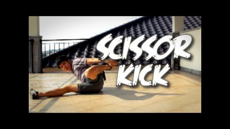 Bboy Tutorial I How to Scissor Kick I