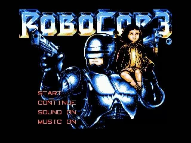 Полное прохождение Dendy Robocop 3 Робокоп 3