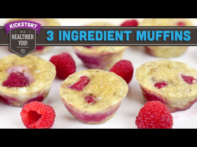 3 Ingredient Berry Egg Muffins! Mind Over Munch Kickstart 2016