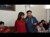 Нона и Зорикто Тогочиевы со своим театром посетили наше кафе