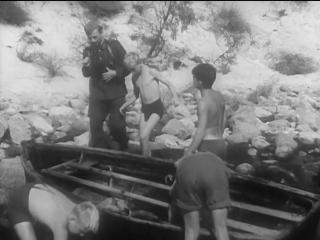 Тайна затонувшего корабля. (ГДР, 1954, семейный, приключения)