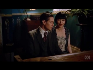 Phryne and Jack - Let's Misbehave - Miss Fishers Murder Mysteries - Essie Davis - Nathan Page