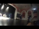 Съёмки клипа Тучи в Питере. Зазеркалье ActionCamera 1