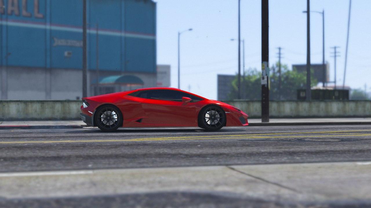 Lamborghini LP610 для GTA V - Скриншот 1