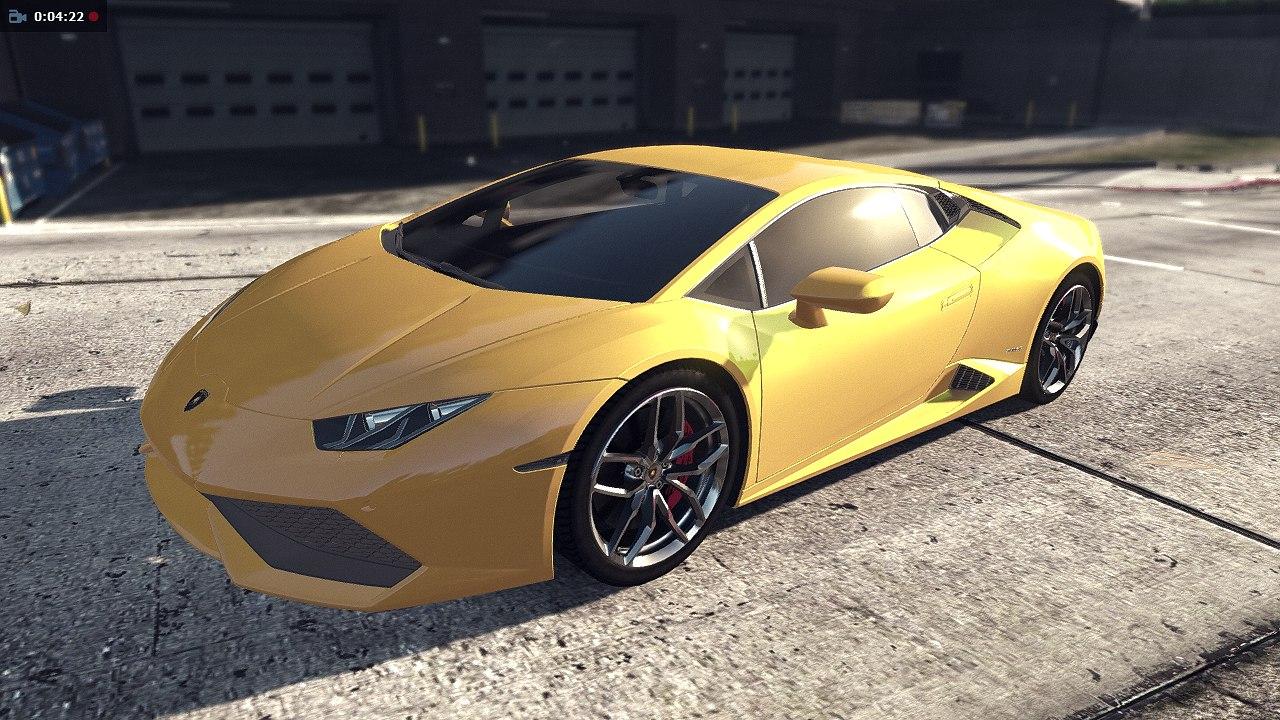 Lamborghini LP610 для GTA V - Скриншот 3
