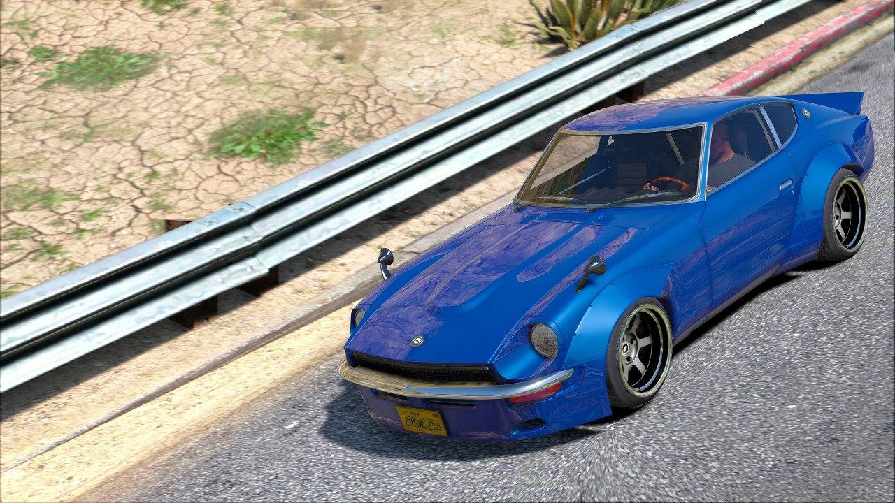 Datsun Z Rocket Bunny для GTA V - Скриншот 1