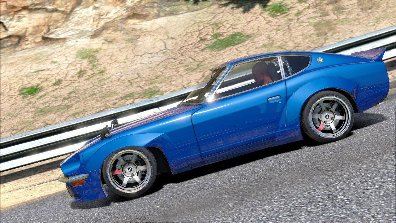 Datsun Z Rocket Bunny для GTA V - Скриншот 2
