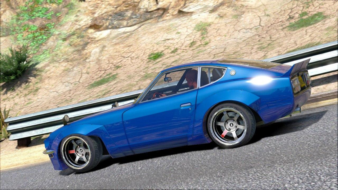 Datsun Z Rocket Bunny для GTA V - Скриншот 3