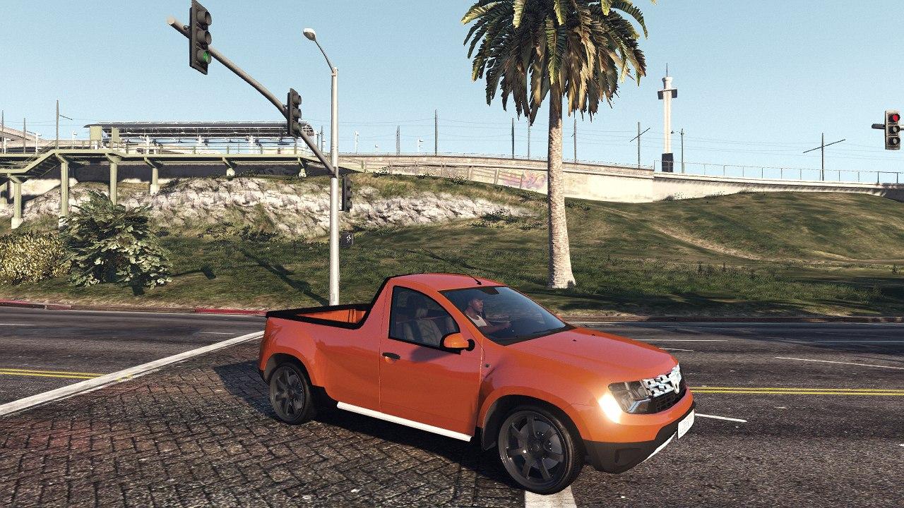 Dacia Duster Pick-Up для GTA V - Скриншот 1