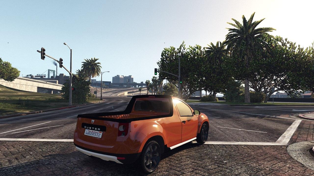 Dacia Duster Pick-Up для GTA V - Скриншот 2