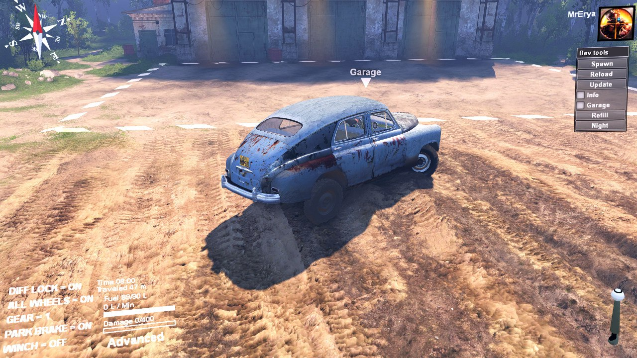 ГАЗ M72 «Победа» для 03.03.16 для Spintires - Скриншот 2