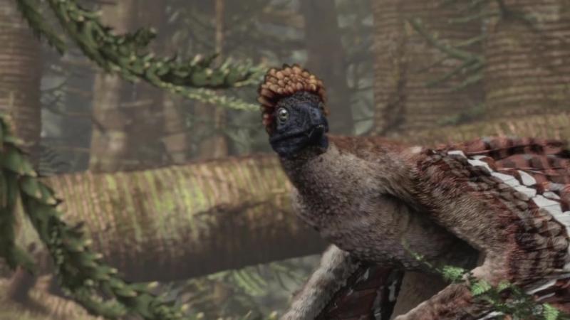 BBC. Планета динозавров. 2 серия. Пернатые драконы.
