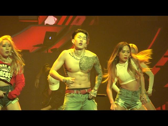 160213 박재범 Jay Park - 뻔하잖아(U KNOW) Break Dance Mommae Remix (AOMG Concert)