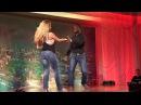 Ekow Sarve - West coast swing performance at the London ZoukFest 2014 [HD]